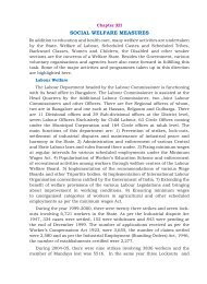 SOCIAL WELFARE MEASURES - Government of Karnataka
