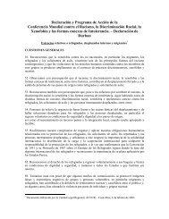Extractos relativos a refugiados, desplazados internos y ... - Acnur