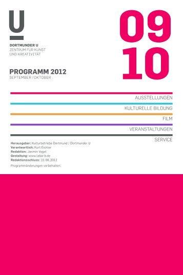 programm 2012 - Dortmunder U