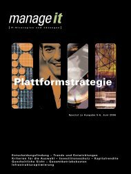 Download PDF Plattformstrategie - manage it