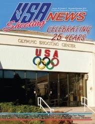November/December 2010: Volume 18, Number 6 - USA Shooting