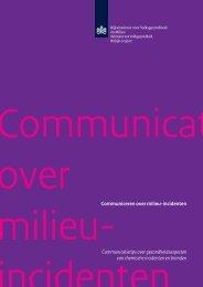 Communicatietips over gezondheidsaspecten van chemische ...