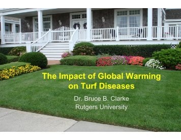 Impact of Global Warming on Turfgrass Diseases in the Mid-Atlantic ...