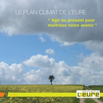 LE PLAN CLIMAT DE L'EURE