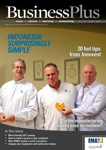 Business Plus July 2013 - EMA