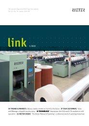 link 1 /2010 04 Trends & MArKeTs Belarus textile market on ... - Rieter