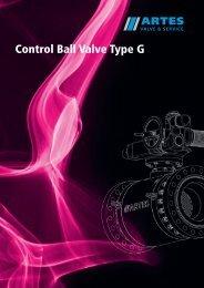 Control Ball Valve Type G