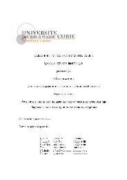 TH£SE de DOCTORAT de l'UNIVERSITÉ PARIS 6 ... - Camlunity