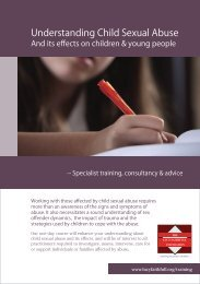 The effects of child sexual abuse on children & young ... - BASPCAN