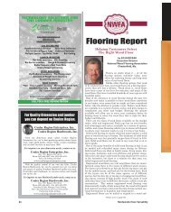 Flooring Report - Miller Publishing Corporation