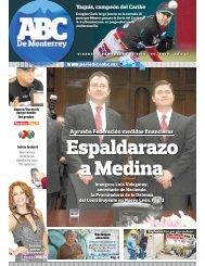 Espaldarazo a Medina - Periodicoabc.mx