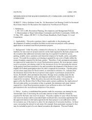 Policy Guidance Letter No. 30, Recreation Cost Sharing Credit For ...