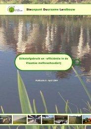 Stikstofgebruik en -efficiëntie in de Vlaamse ... - Meetjesland.be