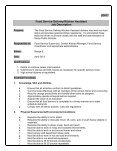 jd  food service delivery kitchen assistant job description