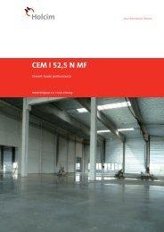 CEM I 52,5 N MF - BigMat