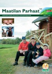 Maatilan Parhaat info 3 / 2006 - Snellman