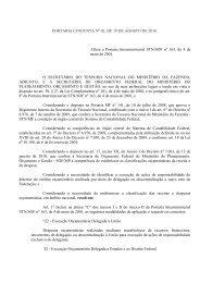 PORTARIA-CONJUNTA Nº 2, DE 6 DE AGOSTO ... - Tesouro Nacional