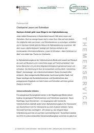 Sachsen-Anhalt geht neue Wege in der AlphabetisierungPDF