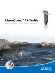 OsseoSpeed™ TX Profile - Astra Tech
