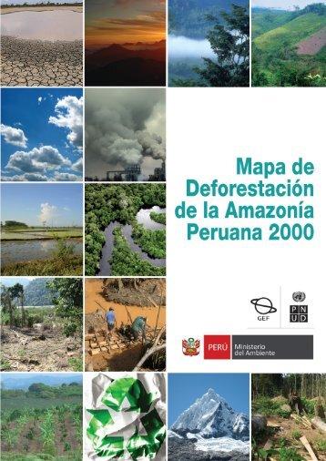 Mapa de Deforestación de la Amazonía Peruana 2000 - CDAM ...