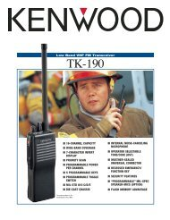 TK-190 Sales Brochure - The Repeater Builder's Technical ...