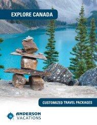 Explore Canada 2012 - Anderson Vacations