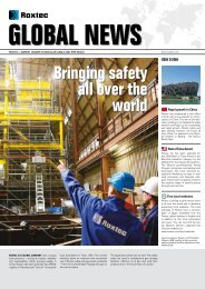 Roxtec Global News #2-2009 (PDF)