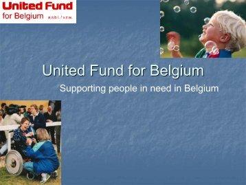 United Fund for Belgium - Aleap