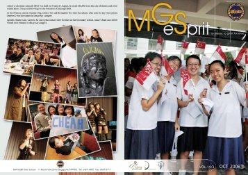 Oct 2008 - Methodist Girls' School