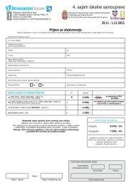 Prijavni formular