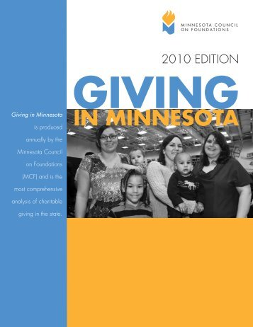 Download the Summary (PDF) - Minnesota Council on Foundations