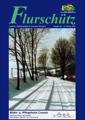 88. Ausgabe vom 12.02.2005 - Gemeinde Morsbach