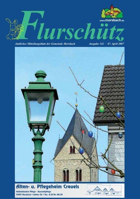Ausgabe 142 vom 07.04.2007 - Gemeinde Morsbach