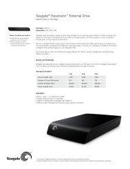 Seagate® Expansion™ External Drive