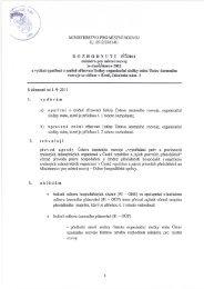 Zřizovací listina - Ústav územního rozvoje