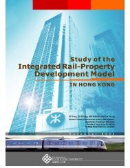 Study of the Integrated Rail-Property Development Model in Hong ...