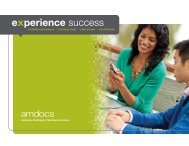 Corporate Brochure - Amdocs
