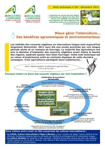 Fiche technique chambre d 39 agriculture de nouvelle cal donie - Chambre d agriculture des deux sevres ...