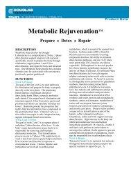 Metabolic RejuvenationTM Prepare - Your Health Store