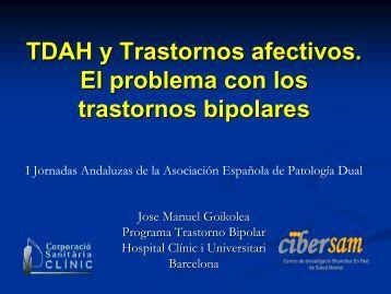 TDAH y Trastornos afectivos. El problema con los trastornos bipolares