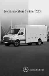 Le châssis-cabine Sprinter 2013 - TheSprinter.ca