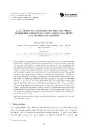 A naïve Bayes Classifier for Web Document Summarie...