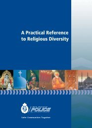 A Practical Reference to Religious Diversity - New Zealand Police