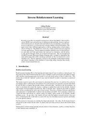 Inverse Reinforcement Learning - Intelligent Autonomous Systems ...