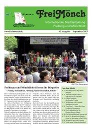 Ausgabe 42 - Bürgerverein Freiberg und Mönchfeld eV
