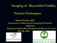 Imaging of Myocardial Viability Nuclear Techniques - RM Solutions