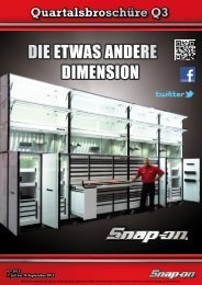 DIE ETWAS ANDERE DIMENSION - Snap-on Tools