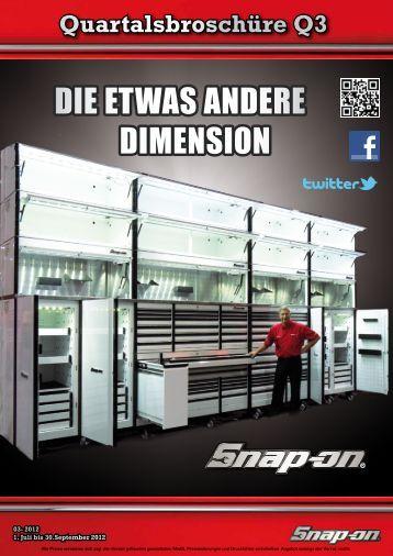 DIE ETWAS ANDERE DIMENSION - Snap-on Tools