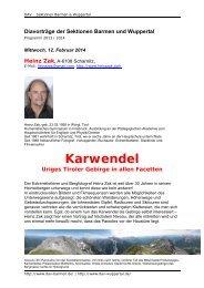 Info (PDF 7 MB) - DAV Sektion Wuppertal