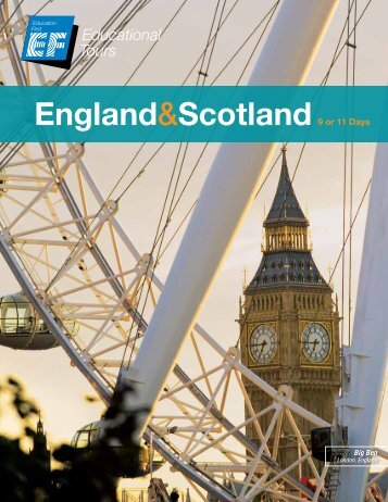 England&Scotland - EF Educational Tours